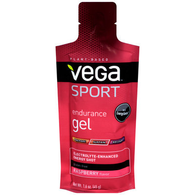 Vega™ Sport Endurance Gel Raspberry Energy Shot 1.6 oz. Pouch