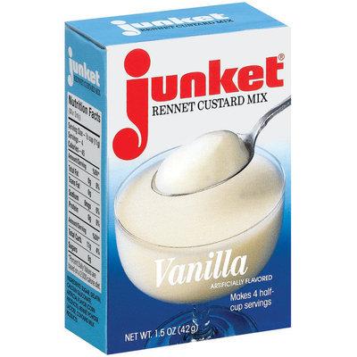 Junket Vanilla Rennet Custard Mix 1.5 Oz Box