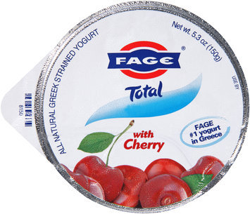 Fage® Total Greek Strained Yogurt with Cherry 5.3 oz. Cup