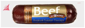 Old Wisconsin® Beef Premium Summer Sausage 8 oz. Package
