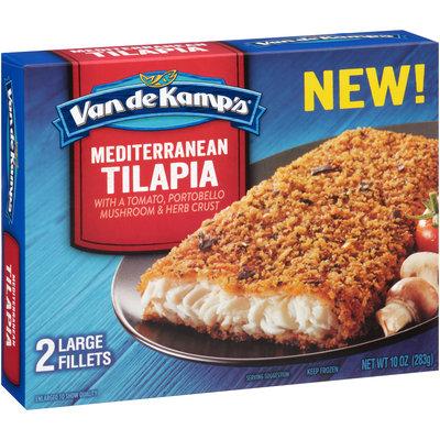 Van de Kamp's® Mediterranean Tilapia Fillets 2 ct Box