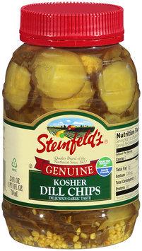 Steinfeld's®Genunie Kosher Dill Chips 24 fl oz Plastic Jar