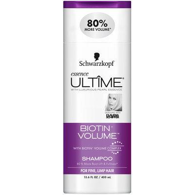 Schwarzkopf Essence Ultime® Biotin+ Volume™ Shampoo 13.6 fl. oz. Squeeze Bottle