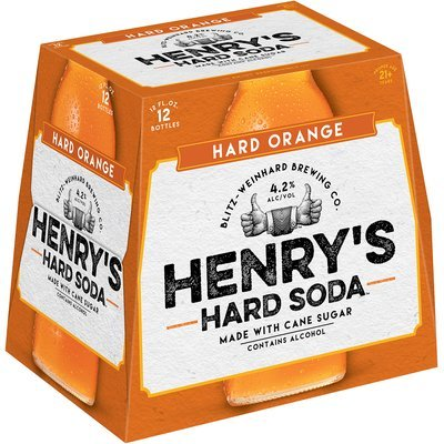 Henry's Hard Soda™ Hard Orange 12-12 fl. oz. Bottles