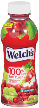 Welch's® 100% JuiceSingle Serve Fruit Punch