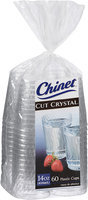 Chinet® Cut Crystal® Plastic Cups