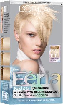 L'Oréal® Paris Feria® Rebel Chic 11.11 Ultra Cool Blonde Hair Color 1 Kit Box