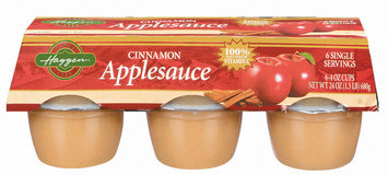 Haggen Cinnamon 6 Ct Applesauce 24 Oz