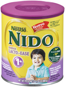 Nestlé NIDO Kinder Lacto-Ease 1+ Reduced Lactose Fortified Powdered Milk Beverage 1.76 lb. Canister