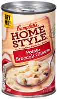 Campbell's® Homestyle™ Potato Broccoli Cheese Soup 18.8 oz. Can
