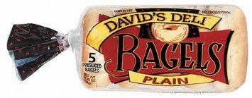 David's Deli Plain 5 Ct Bagels 14.25 Oz Bag