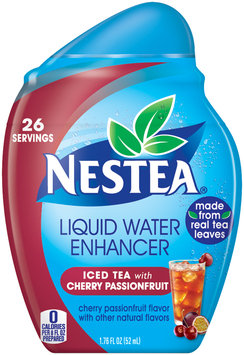 Nestea® Iced Tea with Cherry Passionfruit Liquid Water Enhancer 1.76 fl. oz. Bottle