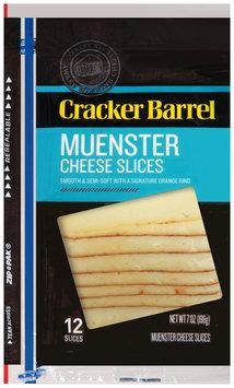Cracker Barrel Muenster Cheese Slices 12 ct ZIP-PAK®
