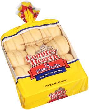 Country Hearth® Enriched Flake Rolls 12 ct Bag