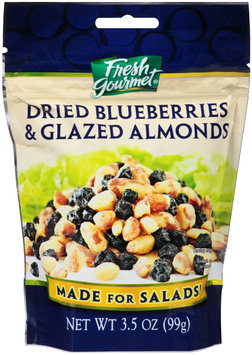 Fresh Gourmet® Dried Blueberries & Glazed Almonds 3.5 oz. Pouch