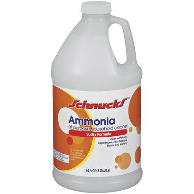 Schnucks All Purpose Household Cleaner Sudsy Formula Ammonia 64 Fl Oz Jug