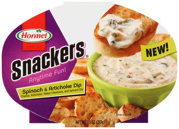 Hormel™ Snackers® Spinach & Artichoke Dip 7.5 oz. Tray