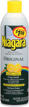 Niagara® Original Lemon Spray Starch 20 oz. Aerosol Can