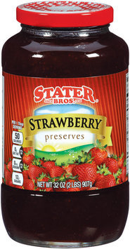 Stater Bros.® Strawberry Preserves 32 oz.