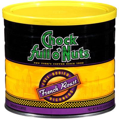 Chock Full o'Nuts French Roast Ground Coffee 26 oz. Can
