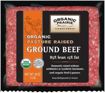 Organic Prairie® Pasture Raised Ground Beef 85/15 16 oz.