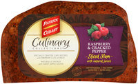 Patrick Cudahy® Culinary Collections™ Raspberry & Cracked Pepper Sliced Ham with Natural Juices
