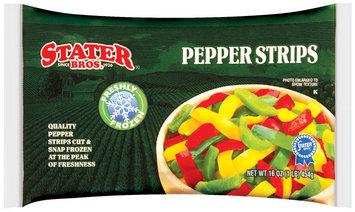 Stater Bros. Freshly Frozen Pepper Strips 16 Oz Bag