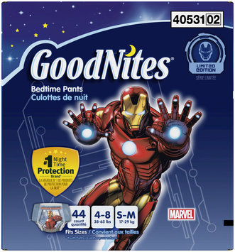 GoodNites® Bedtime Pants for Boys S/M