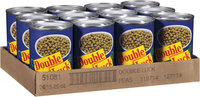 Double Luck® Extra Standard Sweet Peas 15 oz. Can