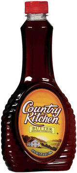 Country Kitchen Butter Flavored Syrup 24 Oz Squeeze Bottle