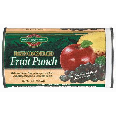 Haggen  Fruit Punch 12 Oz Can