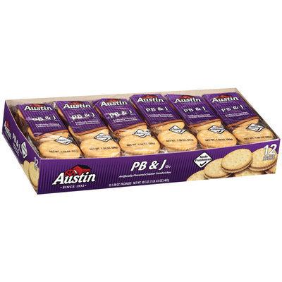 Austin Pb & J Cracker Sandwiches 16.5 Oz Box