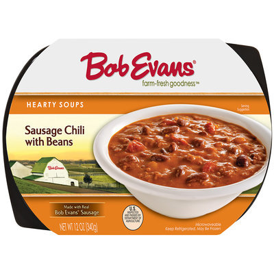 Bob Evans® Hearty Soups Sausage Chili with Beans 12 oz. Tray