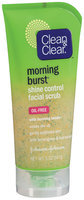 Clean & Clear® Morning Burst® Shine Control Facial Scrub Cleansers 5 oz. Tube