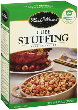 Mrs. Cubbison's® Herb Seasoned Cube Stuffing 10 oz. Box