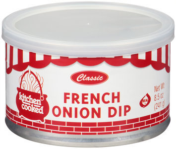 Kitchen Cooked Classic French Onion Dip 8.5 oz. Canister