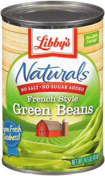 Libby's® Naturals French Style Green Beans 14.5 oz. Can