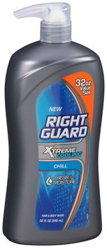 Right Guard® Xtreme Cooling® Chill Hair & Body Wash 32 fl. oz. Bottle