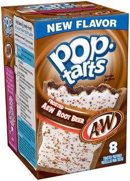 Pop•tarts® Frosted A&W™ Root Beer Toaster Pastries 14.1 oz. Box