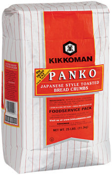 Kikkoman Toasted Japanese Style  Bread Crumbs 25 Lb Bag