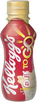 Kellogg's® To Go™ Vanilla Protein Breakfast Shake 10 fl. oz. Bottle