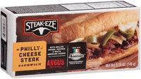 Steak-Eze® Philly Cheese Steak Sandwich 5.15 oz. Box
