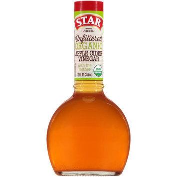 Star® Unfiltered Organic Apple Cider Vinegar 12 fl. oz. Bottle