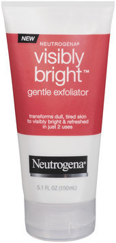 Neutrogena® Visibly Bright Gentle Exfoliator Cleansers 5.1 Oz Squeeze Bottle