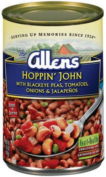 The Allens W/Blackeye Peas Tomatoes Onions & Jalapenos Hoppin' John 14 Oz Can