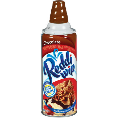 Reddi Wip Whipped Chocolate Topping 6.5 Oz Aerosol Can