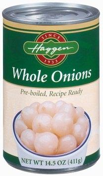 Haggen Whole Onions 14.5 Oz Can