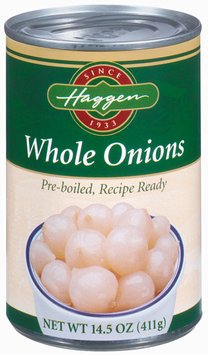 Haggen Whole Onions 14.5 Oz Can