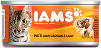 Iams™ Adult Pate with Chicken and Liver Canned Cat Food