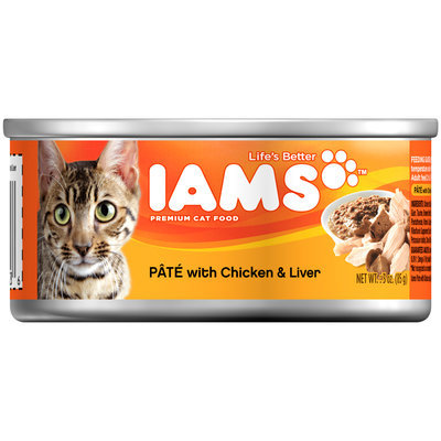 Iams™ Pate with Chicken & Liver Cat Food 3 oz. Can